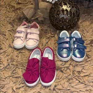 Cat & Jack Sneaker Bundle (3 Pairs)